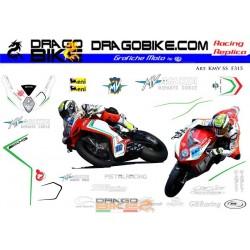Motorbike Stickers Kit SuperSport  MV Agusta  F3 SS 2015