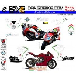 Motorbike Stickers Kit SuperSport  MV Agusta  F3 SS 2015 Total