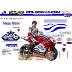Kit Adhesivos Ducati Haga...