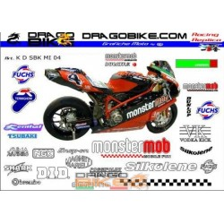 Kit adhesivo race replica...
