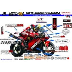 Kit adhesivo Ducati 998 SBK...