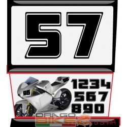 Race Number  Tape  A15