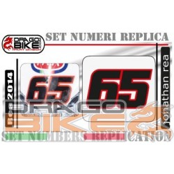 Race Number Jonathan Rea 65...