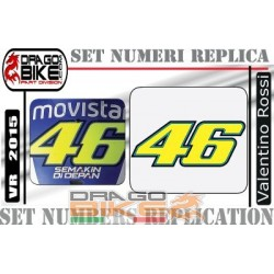 Race Number Valentino Rossi 2015