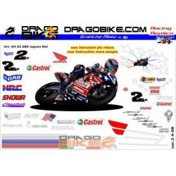 Kit Honda SP-W SBK 2002...