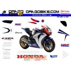 Набор Наклеек Honda SBK 8...