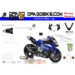 Adhesivos Moto Yamaha BSB...