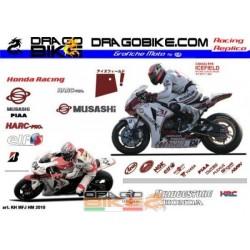 Adhesivos Moto Honda Harc...