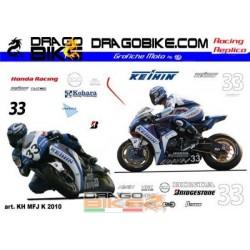 Adhesivos Moto Honda Keihin...