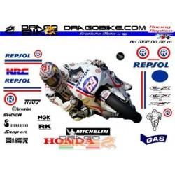 Kit Adesivo Honda MotoGP...