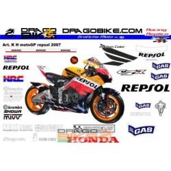 Caja Adhesivas Motos Honda...