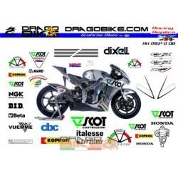 Kit Honda MotoGP Dovizioso...