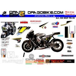 Motorbike Stickers Kit Honda MotoGP LCR PlayBoy 2009