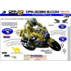 Kit Adhesivo Moto Honda...