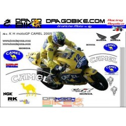 Stickers kit  Honda Camel...