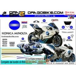 Kit Adhesivo Honda Konica...