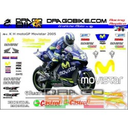 Stickers Kit Honda Motogp...