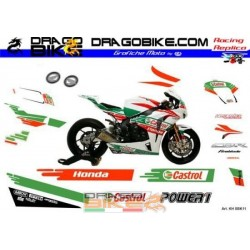 Набор Наклеек Honda SBK...