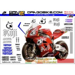 Graphics Decals Honda SBK...