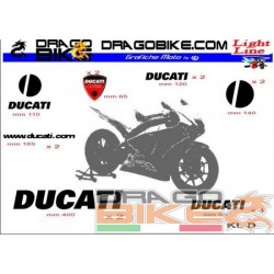 Sticker Kit  Light for Ducati