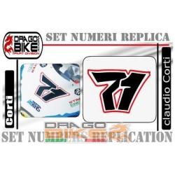 Race Number  71 Claudio Corti