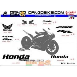 Sticker Kit Light for Honda CBR
