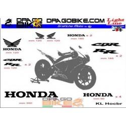 Adhesivos Moto Light Honda CBR