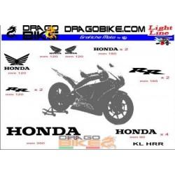 Adhesivos Moto Light por Honda
