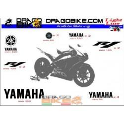 Sticker Kit  Light for Yamaha R1
