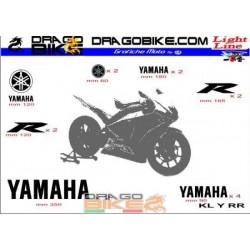 Sticker Kit  Light for Yamaha RR Series