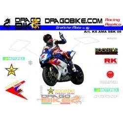 Sticker Kit Suzuki AMA SBK...