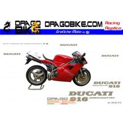 Набор Наклеек Ducati 916...