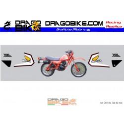 Набор Наклеек Honda 125 xl...