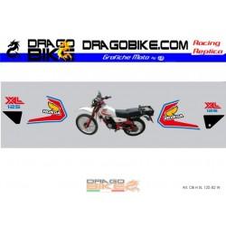 Adhesivos Moto Honda 125 xl...