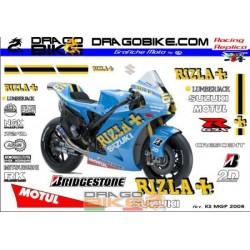Kit Adesivi Suzuki MotoGP 2008