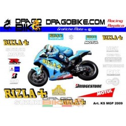 Набор Наклеек Suzuki MotoGP...