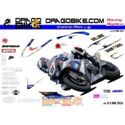 Adhesivos Moto Suzuki SBK 2010