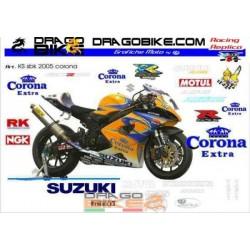 Stickers Kit Suzuki SBK...