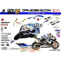 Adhesivos Moto Suzuki SBK D...