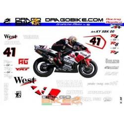 Kit Adesivo Yamaha SBK 2000...