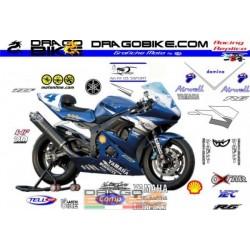 Decals Kit Yamaha Supersport 2003 Belgrada Team