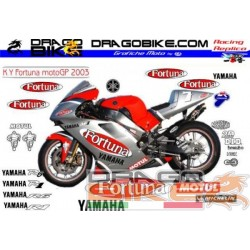 Motorbike Stickers Kit Yamaha Fortuna MotoGp 2003
