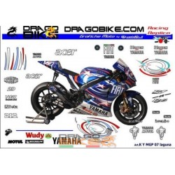 Motorbike Stickers Kit Race...