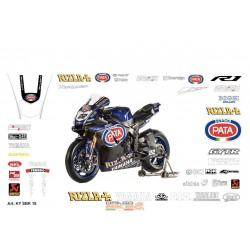 Adhesivos Moto Yamaha SBK...