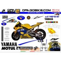 Набор Наклеек Yamaha MotoGP...