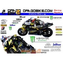 Motorbike Stickers Replica Yamaha MotoGP 2010 Monster Team