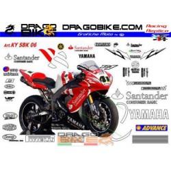Kit Yamaha SBK Haga/Pitt 2006
