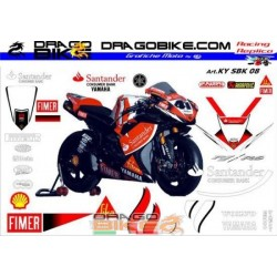 Stickers Kit Yamaha SBK...