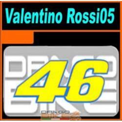 Dorsal 46 Valentino Rossi 2005
