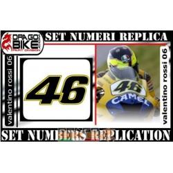 Dorsal 46 Valentino Rossi 2006